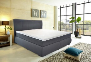 Postel Boxspring Orlando - 180x200, matrace (bravo 13 anthra)