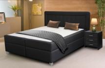 Postel Brity Lux 4 - Boxspring 170x200, úložný prostor, čalouněné matrace