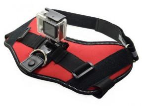 Postroj NICEBOY pro uchycení kamery na psa/kočku