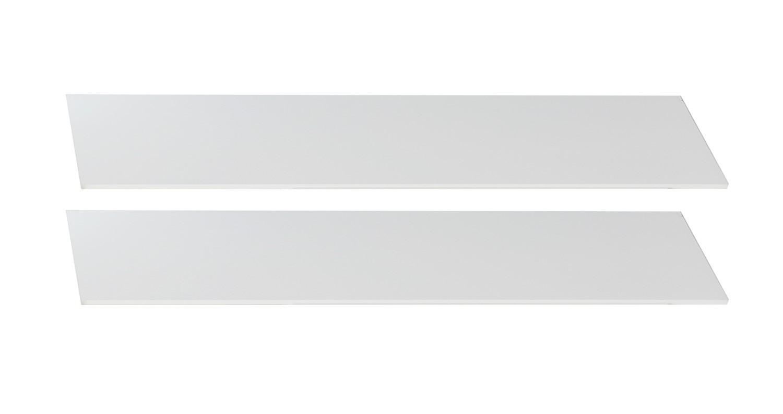 Postýlky a příslušenství Bibi - Bočnice k dětské postýlce (alpská bílá, zelené jablko)
