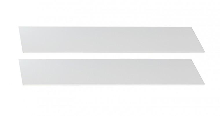 Postýlky a příslušenství Cariba - Bočnice k dětské postýlce (bílá dub, černá láva)