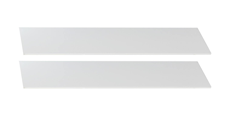Postýlky a příslušenství Cariba - Bočnice k dětské postýlce (san remo dub, bílá)
