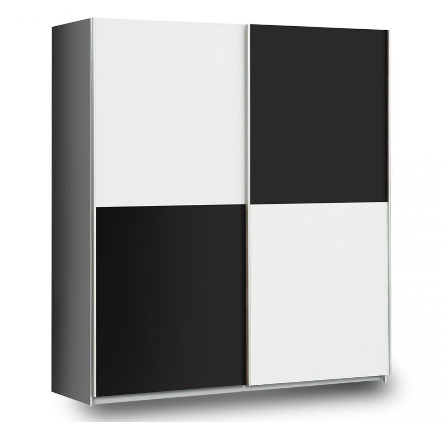 Posuvná Express(V17 - Bílá (120 (A06)) / Černý Mat (Z13M) /  Šedá (A06))