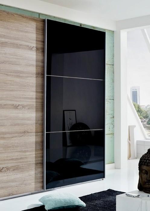 Posuvná Match Up-Dveře (černé sklo 973)