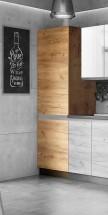 Potravinová skříň ke kuchyni Brick light - II. jakost