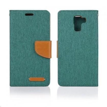 Pouzdra a kryty Aligator pouzdro BOOK FANCY pro Huawei Honor 7, zelená ROZBALENO