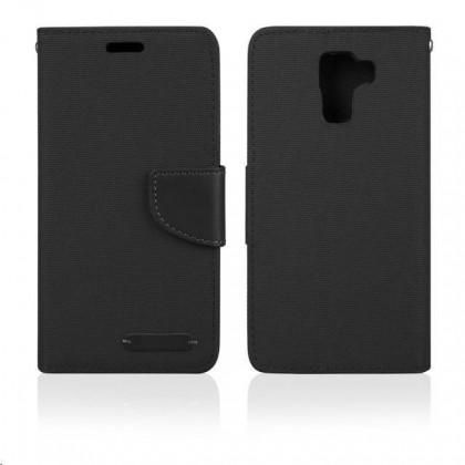 Pouzdra a kryty Aligator pouzdro BOOK FANCY pro Samsung Galaxy J5, černá PBOFAJ5B