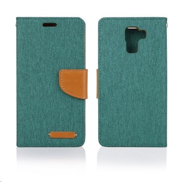 Pouzdra a kryty Aligator pouzdro BOOK FANCY pro Samsung Galaxy J5, zelená PBOFAJ5