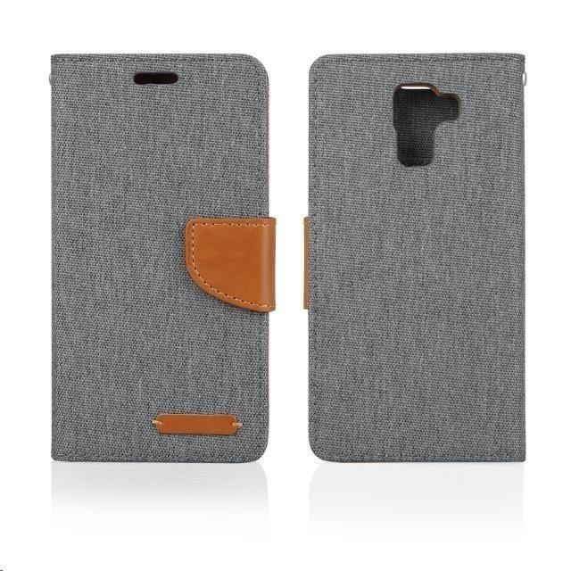 Pouzdra a kryty Aligator pouzdro Fancy Book pro Huawei P8 Lite, šedá