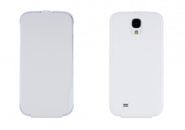 Pouzdra a kryty Anymode flip pouzdro pro Samsung Galaxy S4, bílá