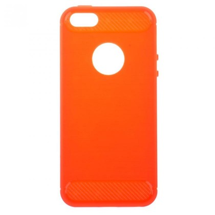 Pouzdra a kryty Carbon iPhone 5 red