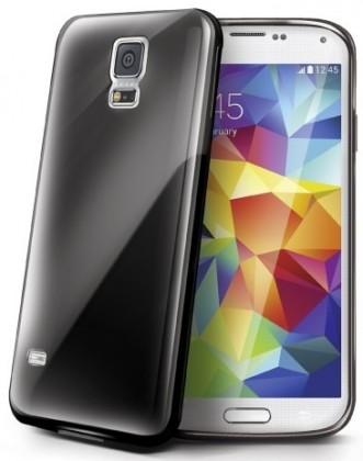 Pouzdra a kryty Celly gelskin pro Samsung Galaxy S5, černé