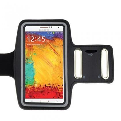 Pouzdra a kryty GT ARM BAND 2 pouzdro na ruku pro i9300/i9500/G2, černé, blister