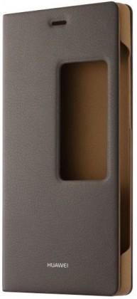 Pouzdra a kryty Huawei flip pouzdro pro Huawei P8, hnědá