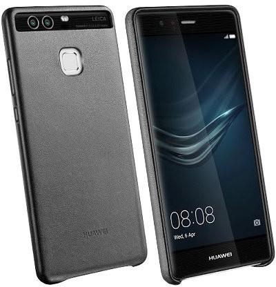 Pouzdra a kryty HUAWEI kožené pouzdro pro Huawei P9 Černé