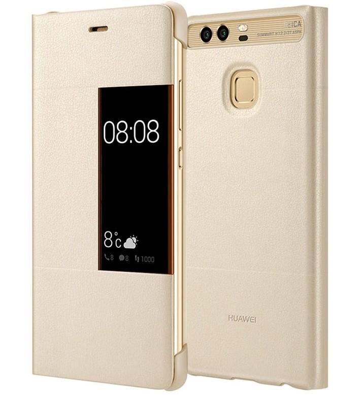 Pouzdra a kryty HUAWEI Smart Cover pro Huawei P9, zlatá