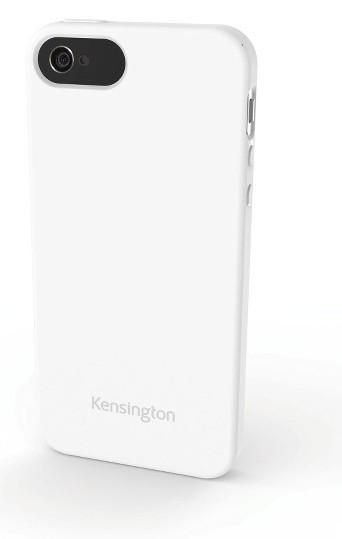 Pouzdra a kryty Kensington gelskin pro iPhone 5, bílá