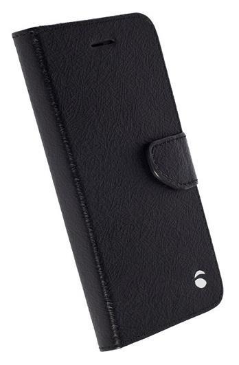Pouzdra a kryty Krusell flip polohovací pouzdro BORAS FolioWallet S7 edge,černá