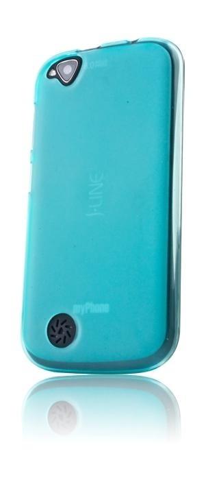 Pouzdra a kryty myPhone silikonové pouzdro pro telefon S-Line - modré