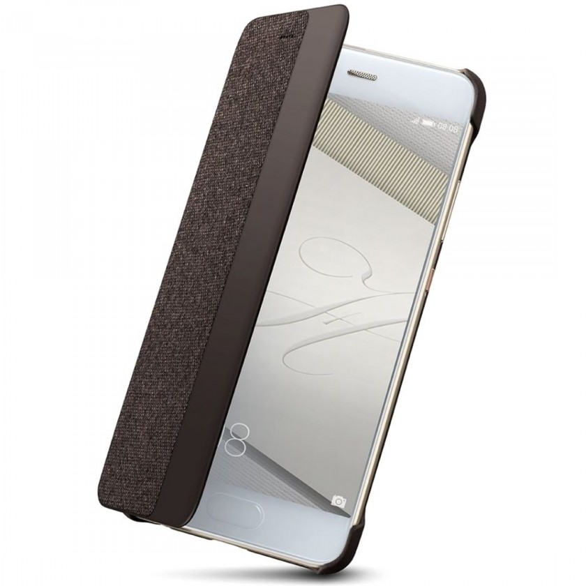 Pouzdra a kryty P10 Smart View Cover Brown