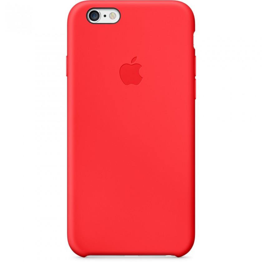 Pouzdra a kryty Pouzdro APPLE iPhone 6 MGQH2ZM/A červené