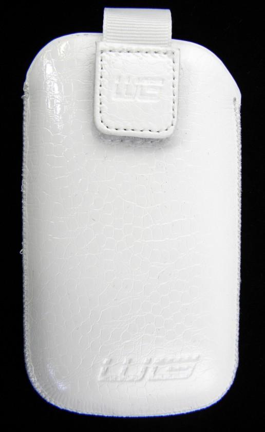 Pouzdra a kryty Pouzdro BS KK white iPhone 3G/iPhone 4/iPhone 4S N C6/C7/E5/N8/O