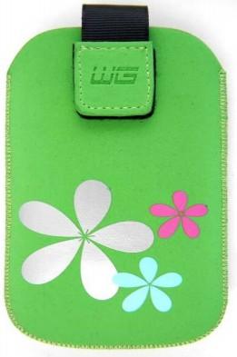 Pouzdra a kryty Pouzdro BST KV2 3D green SAM Omnia HD/Wave II 8530 N E7 HTC HD 7