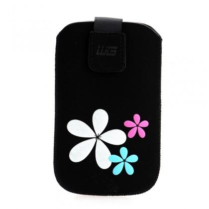 Pouzdra a kryty Pouzdro KV2 3D black SAM Omnia HD/Wave II 8530 N E7 HTC HD 7/ONE
