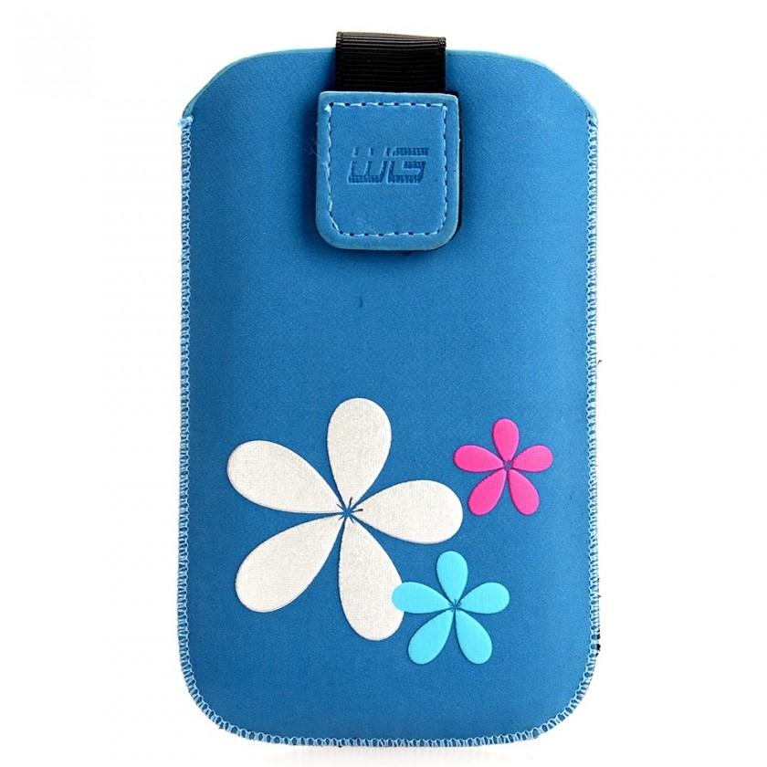Pouzdra a kryty Pouzdro KV2 3D blue SAM Galaxy S III/Galaxy S IV