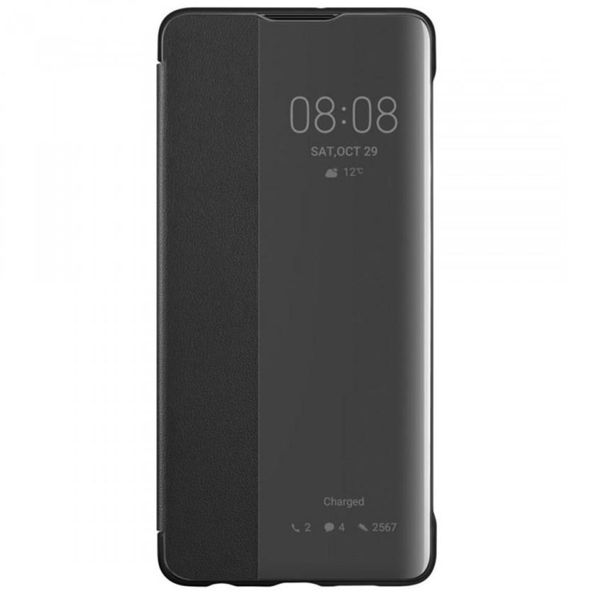 Pouzdra a kryty Pouzdro pro Huawei P30 LITE Smart View, černá