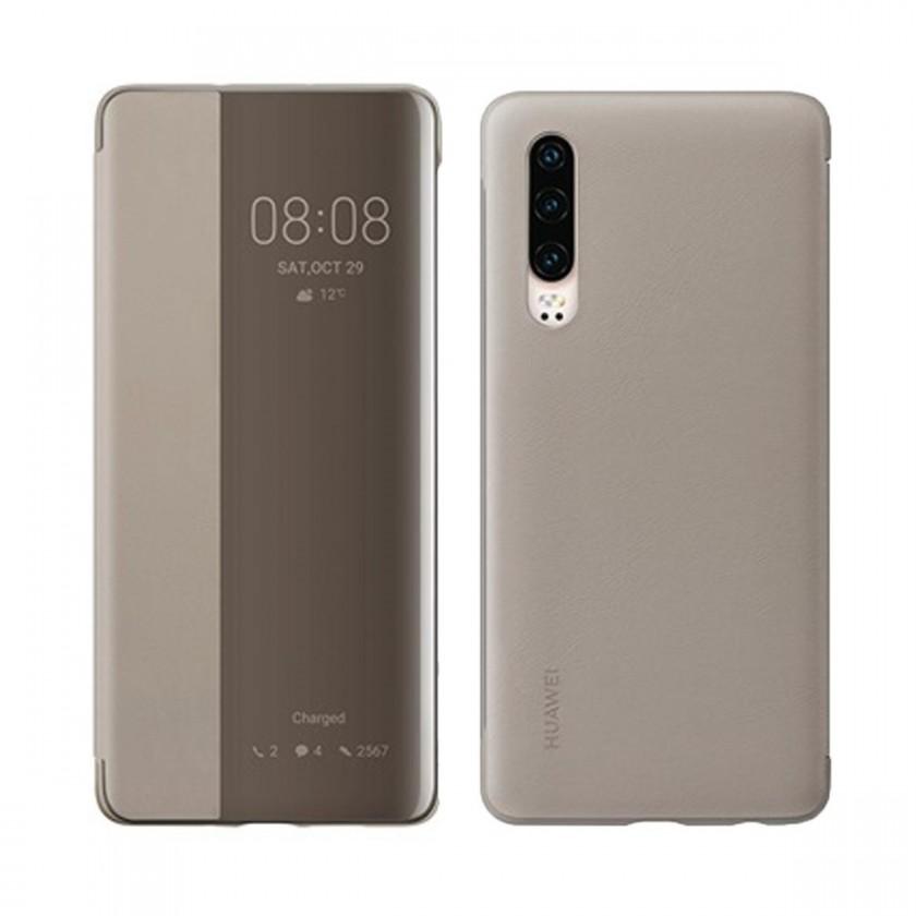 Pouzdra a kryty Pouzdro pro Huawei P30 Smart View, khaki