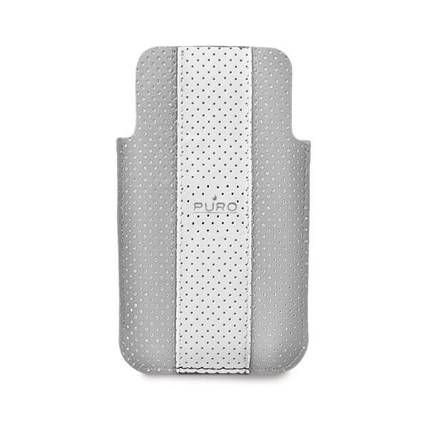 Pouzdra a kryty Puro obal pro iPhone 4/4s,šedá