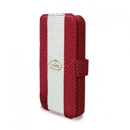 Pouzdra a kryty Puro pouzdro Golf iPhone 4/4s červené