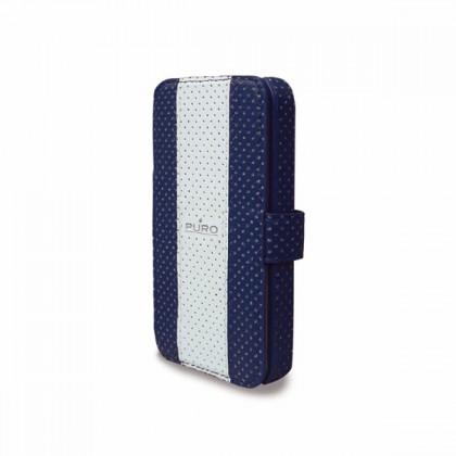 Pouzdra a kryty Puro pouzdro Golf iPhone 4/4s tm. modré