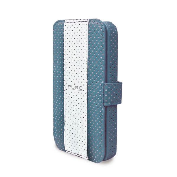 Pouzdra a kryty Puro pouzdro Golf pro iPhone 4/4s, modrá