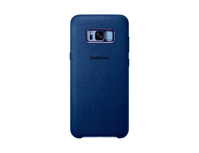 Pouzdra a kryty Samsung Alcantara Cover pro S8+ (G955) Blue