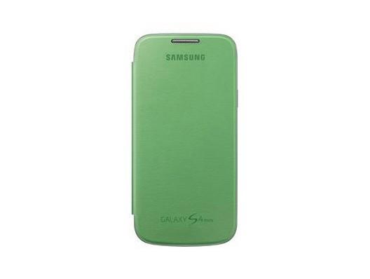 Pouzdra a kryty Samsung EF-FI919BG Galaxy S4 mini pouzdro, zelené