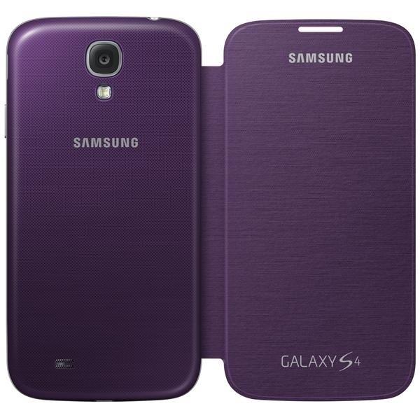 Pouzdra a kryty Samsung EF-FI950BVEG Galaxy S4 pouzdro, fialové
