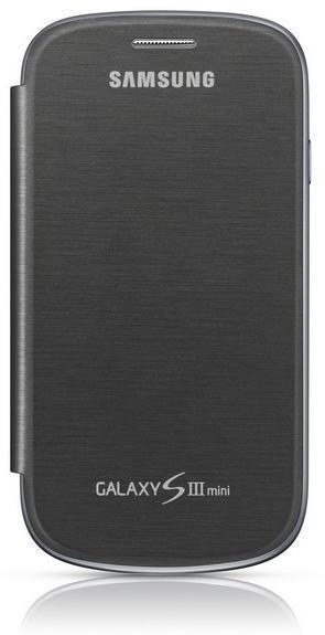 Pouzdra a kryty Samsung EFC-1M7F flipový kryt, šedý