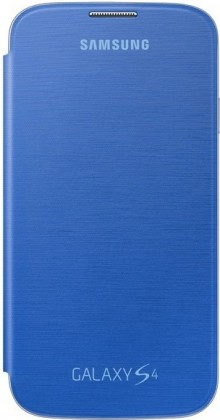 Pouzdra a kryty Samsung flip pouzdro pro Samsung Galaxy S4, modrá