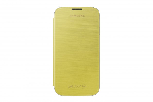 Pouzdra a kryty Samsung flip pouzdro pro Samsung Galaxy S4, žlutá
