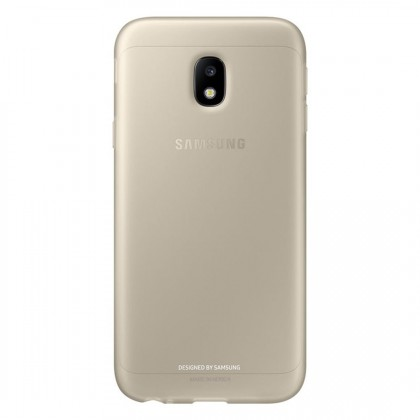 Pouzdra a kryty Samsung Jelly Cover J3 2017,  gold