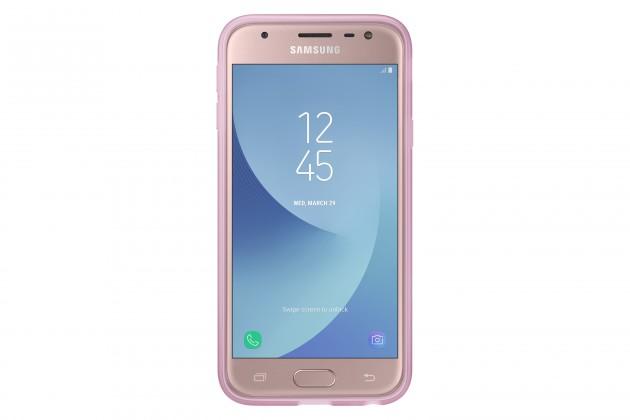 Pouzdra a kryty Samsung Jelly Cover J3 2017,  pink