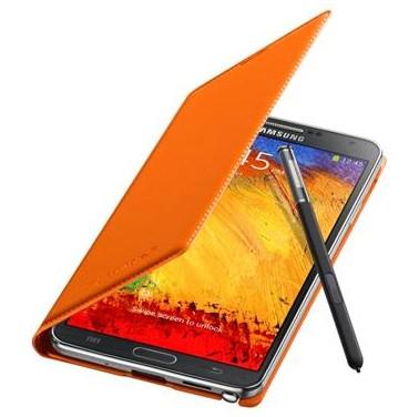 Pouzdra a kryty Samsung pouzdro s kapsou pro Samsung Galaxy Note 3, oranžová