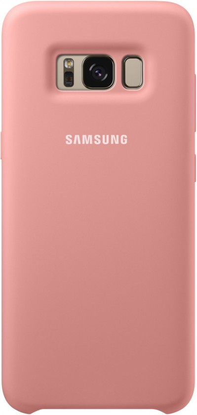 Pouzdra a kryty Samsung Silicone Cover pro S8 (G950) Pink