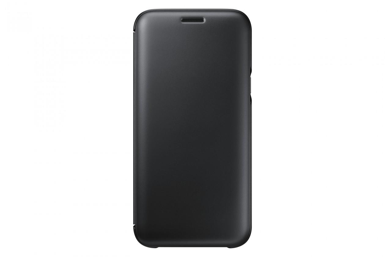 Pouzdra a kryty Samsung Wallet Cover J5 2017,  black