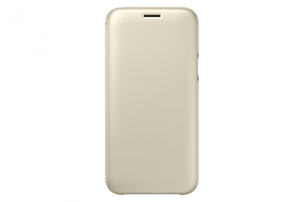 Pouzdra a kryty Samsung Wallet Cover J5 2017,  gold