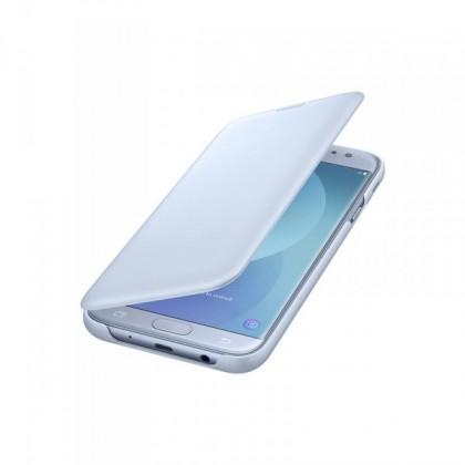 Pouzdra a kryty Samsung Wallet Cover J7 2017,  blue