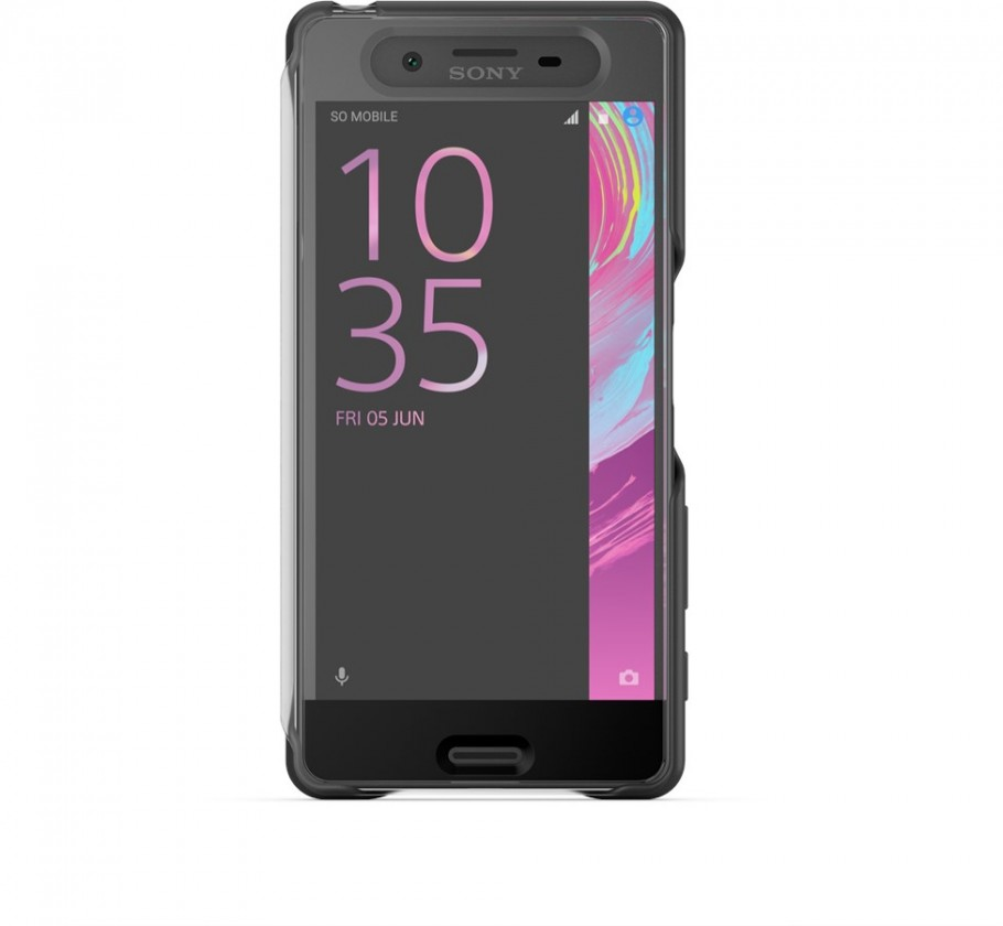 Pouzdra a kryty Sony ochranné pouzdro pro Sony Xperia X, černá