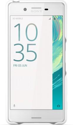 Pouzdra a kryty Sony zadní kryt pro Sony Xperia X, bílá